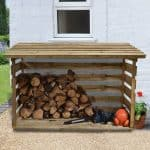 6' x 2' Store-Plus Large Log Store Front