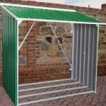 6' x 2'4 Store More Emerald Metal Woodstore