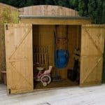 6 x 2'6 Value Overlap Modular Pent Storage Shed