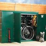 6' x 3' Asgard Premium Metal Bike Store