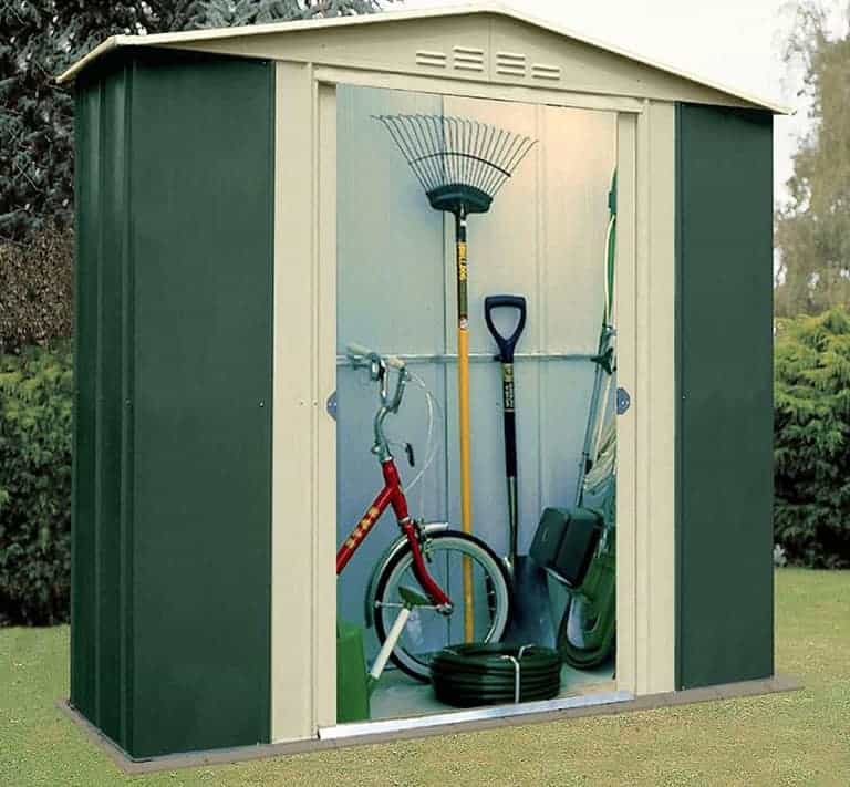 6' x 3' Shed Baron Grandale Six Metal Shed