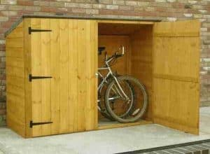 6' x 3' Shire Wooden Bike Shed Store