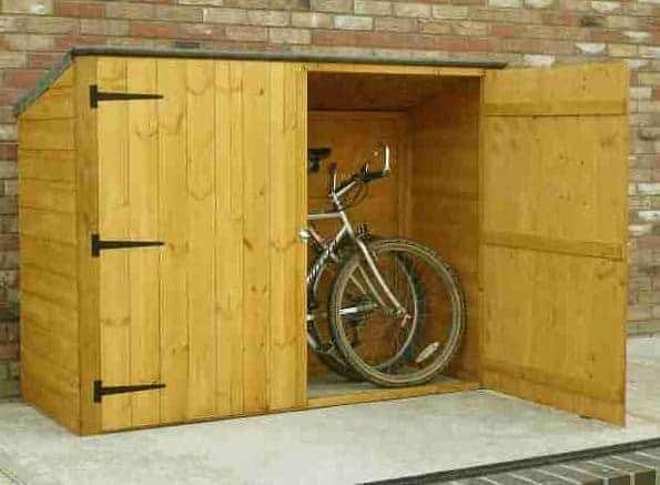 6 X 3 Shire Wooden Bike Shed Store What Shed