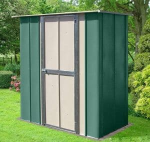 6' x 3' Store More Canberra Utility Metal Shed