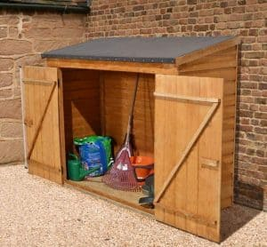 6' x 3' Store-Plus Overlap Maxi Wall Storage Shed