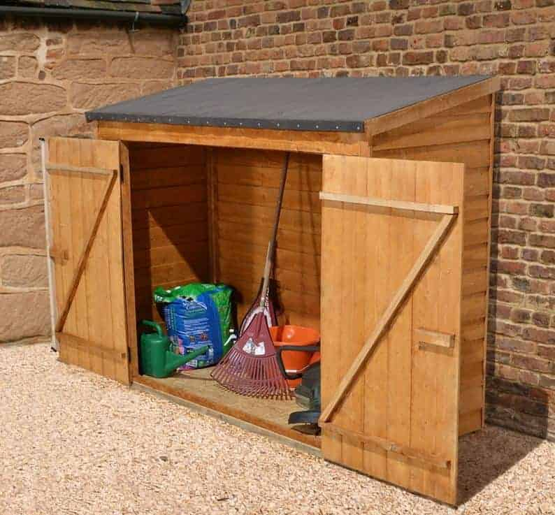 6' x 3' Store-Plus Overlap Maxi Wall Storage Shed - What Shed