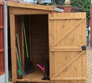 6' x 3' Traditional Pent Tool Store Shed