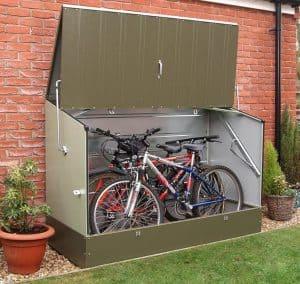 6' x 3' Trimetals Metal Bicycle Store