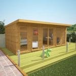 6 x 3 Waltons Insulated Garden Room