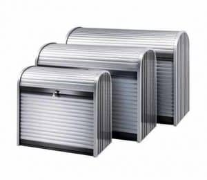 6 x 3 Waltons Storemax Large Roller Door Metal Storage Shed
