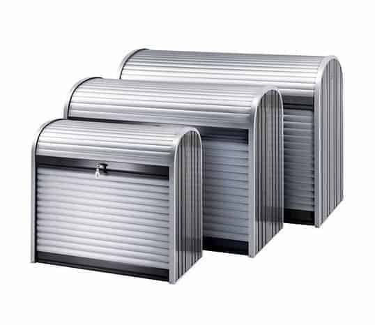 6 x 3 Waltons Storemax Large Roller Door Metal Storage Shed