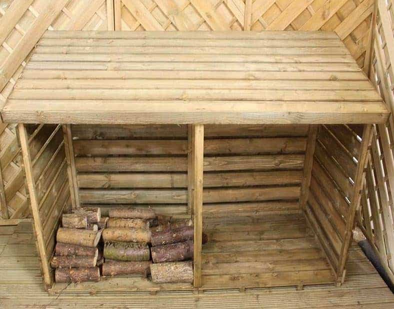 6' x 3' Windsor Double Log Store