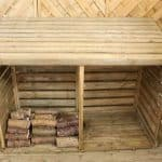 6' x 3' Windsor Double Log Store