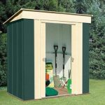 6' x 4' Shed Baron Grandale Pent Metal Shed