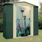 6' x 4' Shed Baron Grandale Six Metal Shed