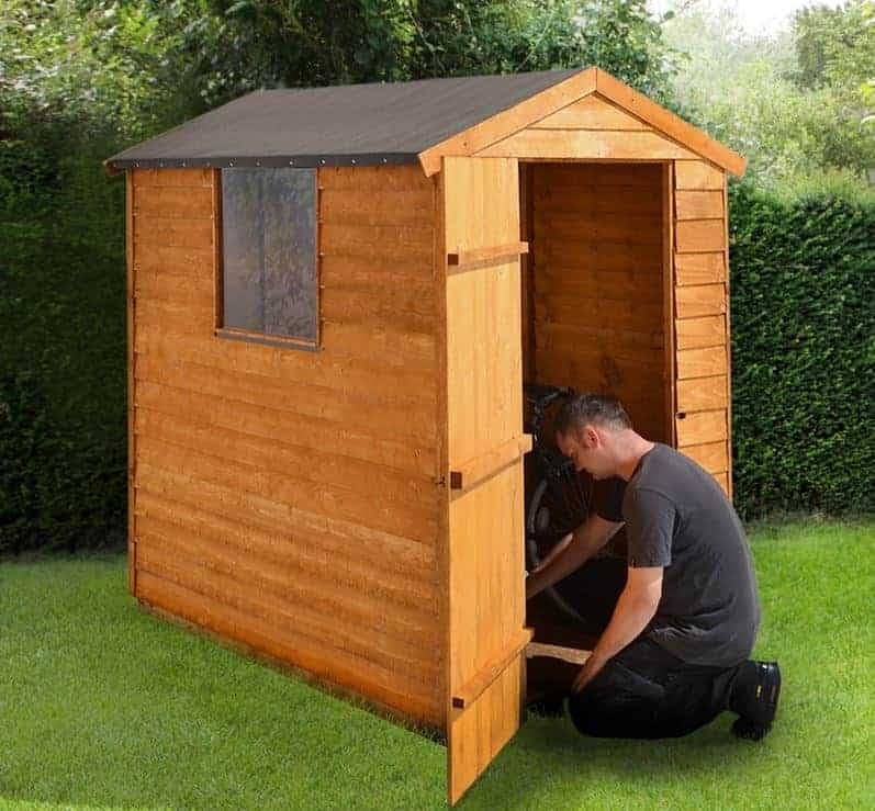 6' x 4' Shed-Plus Overlap Apex Shed