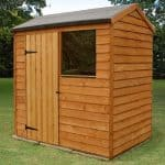 6' x 4' Shed-Plus Overlap Reverse Apex Shed