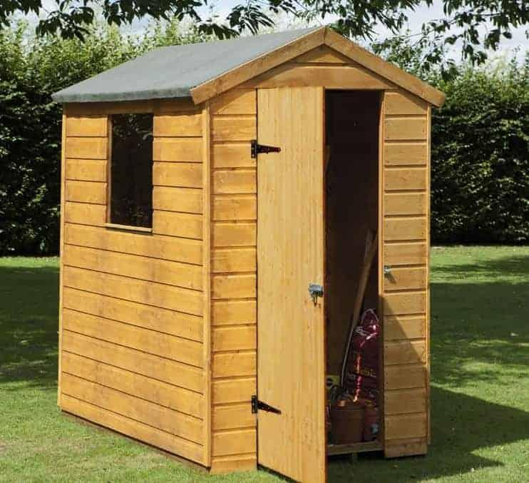 6 39 x 4 39 shed plus shiplap apex shed what shed. Black Bedroom Furniture Sets. Home Design Ideas