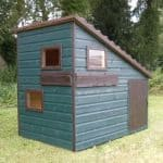 6' x 4' Shire Command Post Playhouse Painted