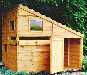 6' x 4' Shire Command Post Playhouse