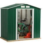 6 x 4 StoreMore Emerald Parkdale Apex Metal Shed