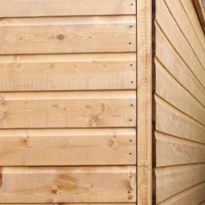 6 x 4 Tongue & Groove OSB Windowless Shed Sustainable Homes Compliant Wall Cladding