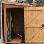 6' x 4' Traditional Pent Tool Store Shed