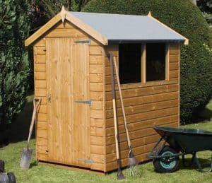 6' x 4' Traditional Standard Apex Shed