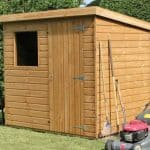 6' x 4' Traditional Standard Pent Shed