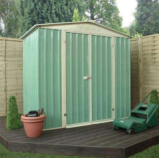 6 x 4 waltons apex metal shed what shed for Garden shed 6 x 4 cheap