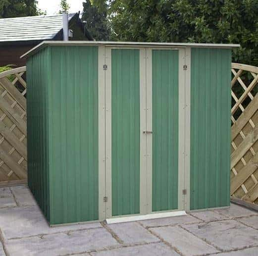 6 x 4 waltons pent metal shed what shed for Garden shed 6 x 4 cheap