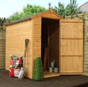 6 x 4 Waltons Shiplap+ Apex Wooden Garden Shed