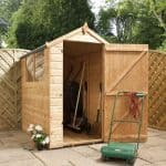 6 x 4 Waltons Tongue And Groove Apex Garden Shed Single Door