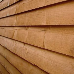 6 x 4 Windowless Overlap Apex Shed Sustainable Code Compliant Wall Cladding