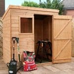 6' x 4' Windsor Suffolk Pent Tongue and Groove Shed