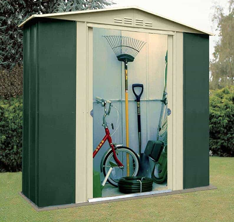 6' x 5' Shed Baron Grandale Six Metal Shed