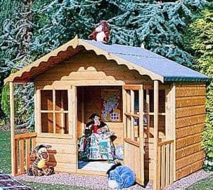 6' x 5' Shire Pixie Wooden Playhouse