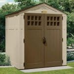 6' x 5' Suncast New Adlington Four Shed