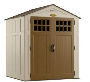 6' x 5' Suncast New Adlington Four Shed Closed Door