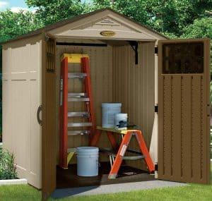 6' x 5' Suncast New Adlington Four Shed Double Open Doors