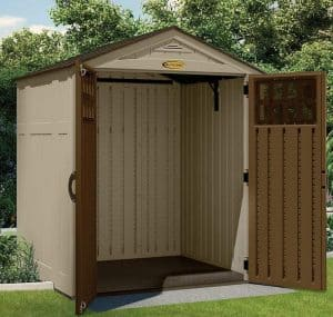 6' x 5' Suncast New Adlington Four Shed Empty