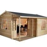 6 x 5 Waltons Home Office Executive Plus Log Cabin