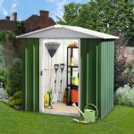 6' x 5' Yardmaster Green Metal Shed 65GEYZ