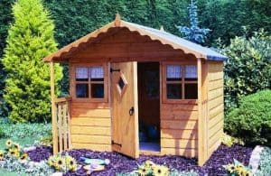6' x 5'6 Shire Cubby Playhouse