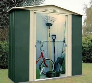 6' x 6' Shed Baron Grandale Six Metal Shed