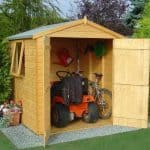 6' x 6' Shire Double Door Garden Shed - Arran