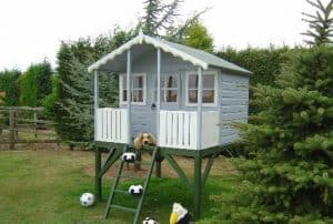 6' x 6' Shire Stork Platform Playhouse Three Tone Colors