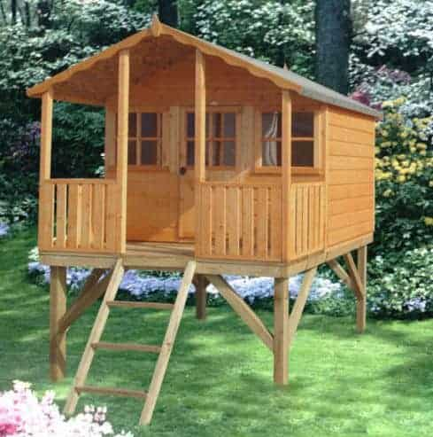6' x 6' Shire Stork Platform Playhouse