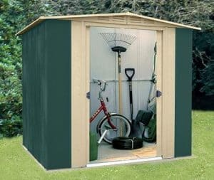 6 x 6 StoreMore Canberra Six Apex Metal Shed