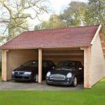 6 x 6 Waltons Field Barn Wooden Garage